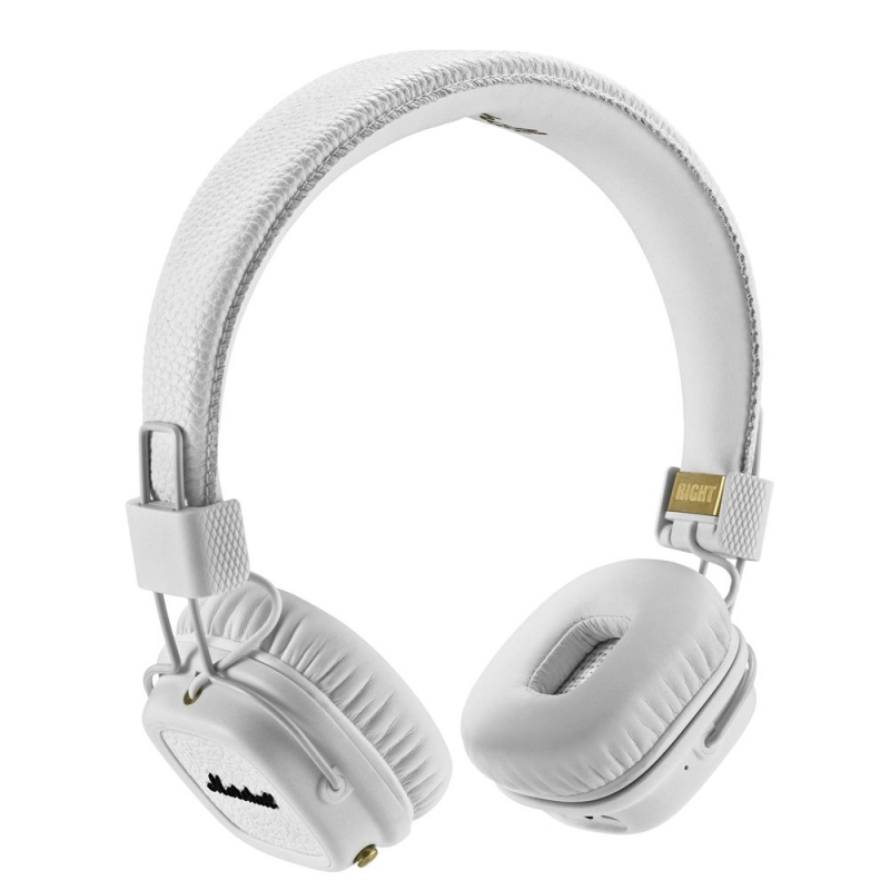 Marshall Major II Bluetooth Headphones White