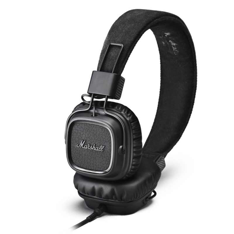 Marshall Major II Headphones Pitch Black
