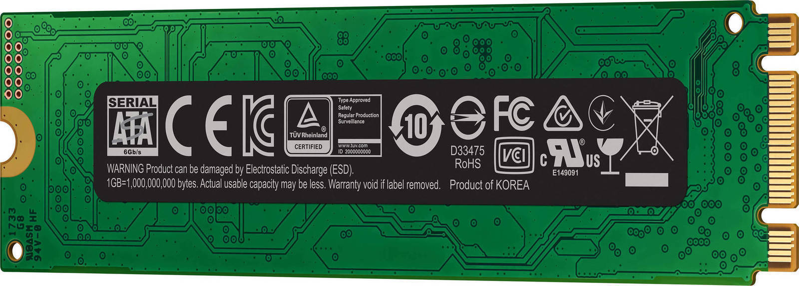 Samsung 860 Evo M.2 500GB Σκληρός Δίσκος SSD