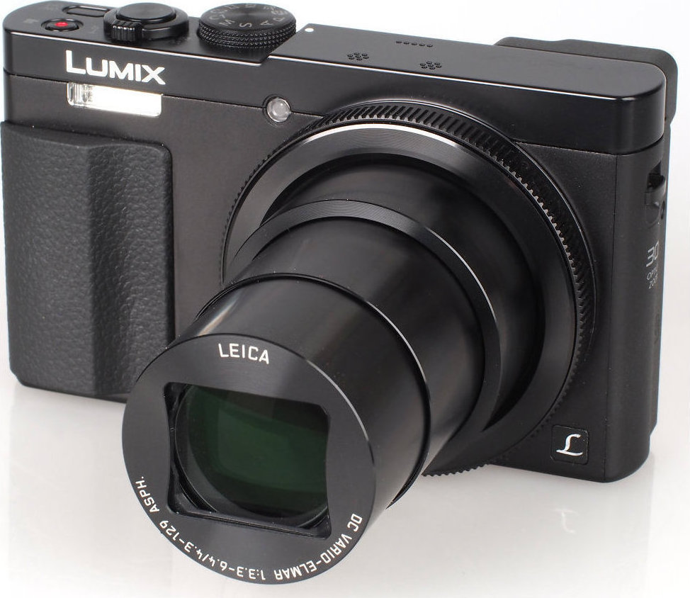 Panasonic Lumix DMC-TZ70 Black Πληρωμή έως 12 δόσεις