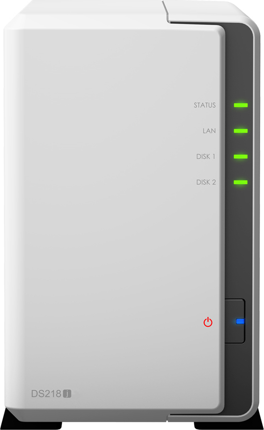 Synology DiskStation DS218J NAS Server Πληρωμή έως 12 δόσεις