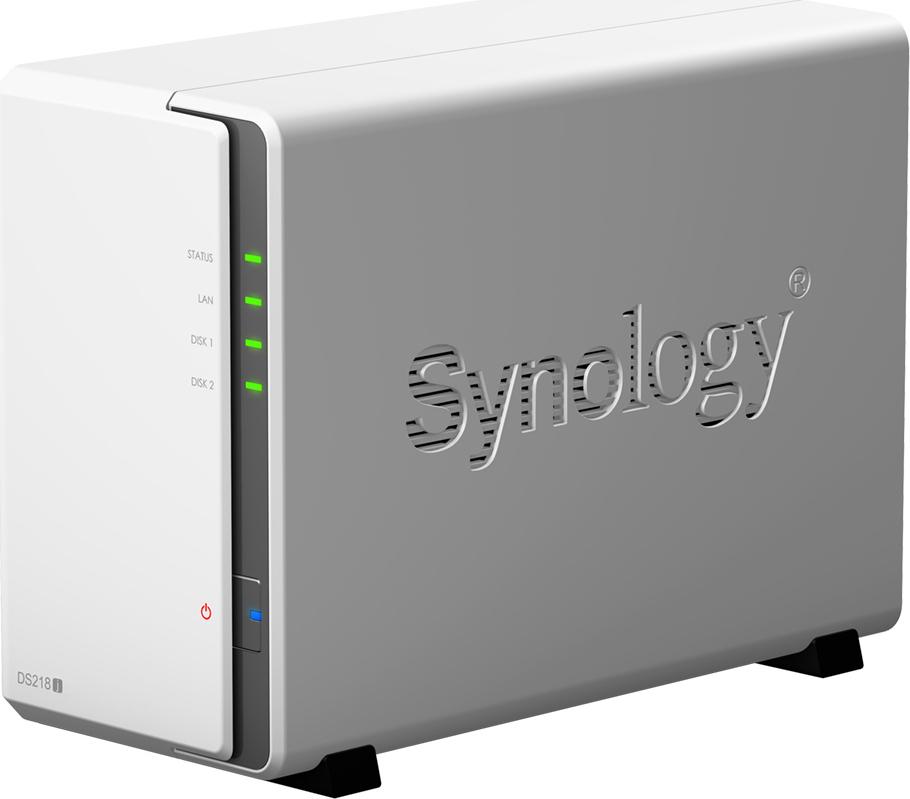 Synology DiskStation DS218J NAS Server Πληρωμή έως 24 δόσεις