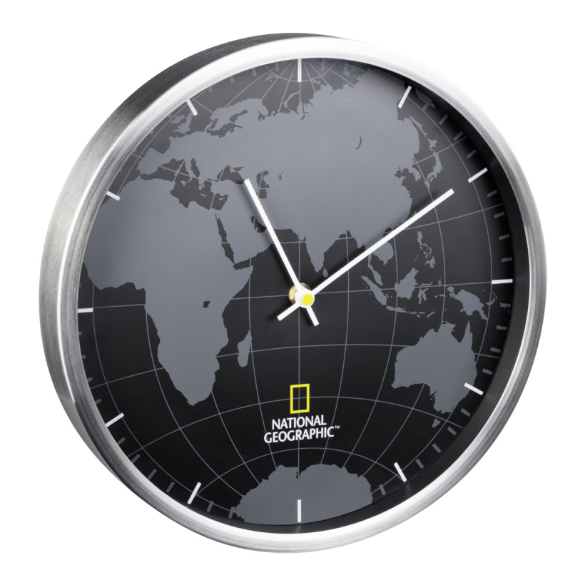 National Geographic Wall Clock World Ρολόι Τοίχου