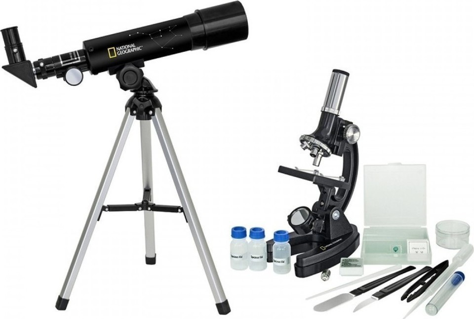 National Geographic Set Telescope/Microscope