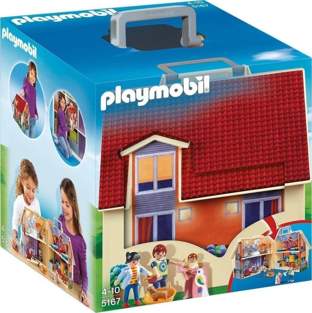 Playmobil Μοντέρνο Κουκλόσπιτο-Βαλιτσάκι