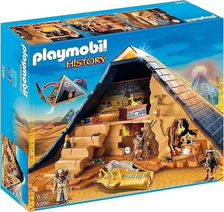 Playmobil Μεγάλη Πυραμίδα του Φαραώ 5386
