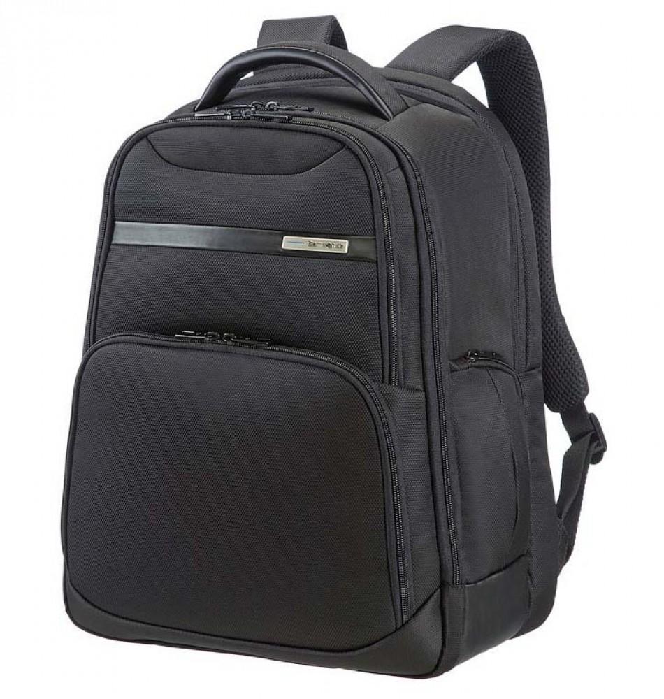 Samsonite Vectura Laptop Backpack M 15-16 Σακίδιο Πλάτης Black