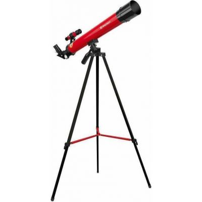 Bresser Junior Lens Telescope 50/600 Az Red Τηλεσκόπιο
