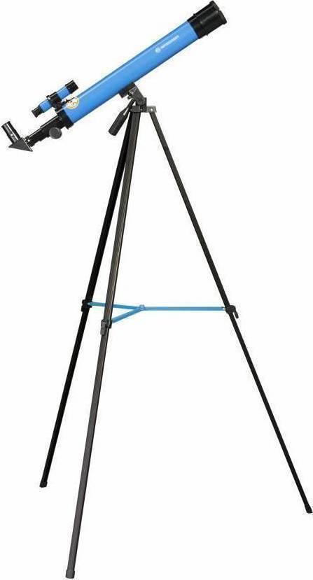 Bresser Junior Lens Telescope 50/600 Az Blue Τηλεσκόπιο