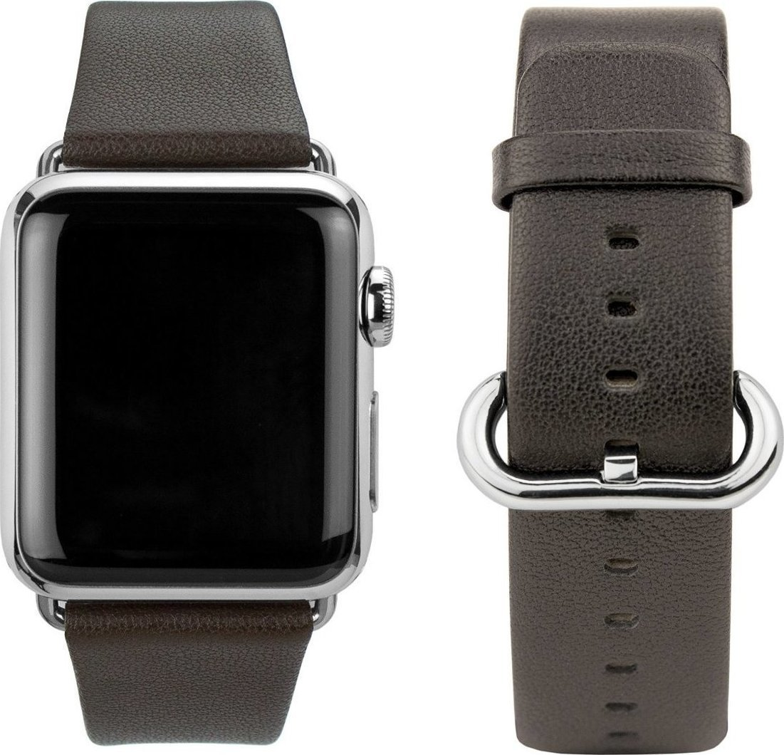 CASEual Leather Band Brown for Apple Watch 38mm Λουράκι