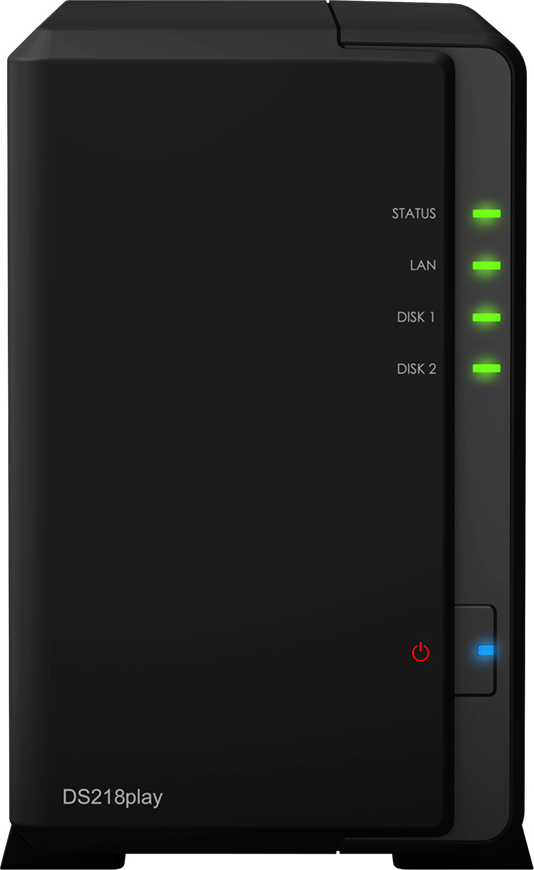 Synology DiskStation DS218Play NAS Server Πληρωμή έως 24 δόσεις