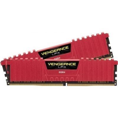 Corsair Vengeance LPX 8GB (2x4GB) DDR4-3200MHz Μνήμες Ram Red