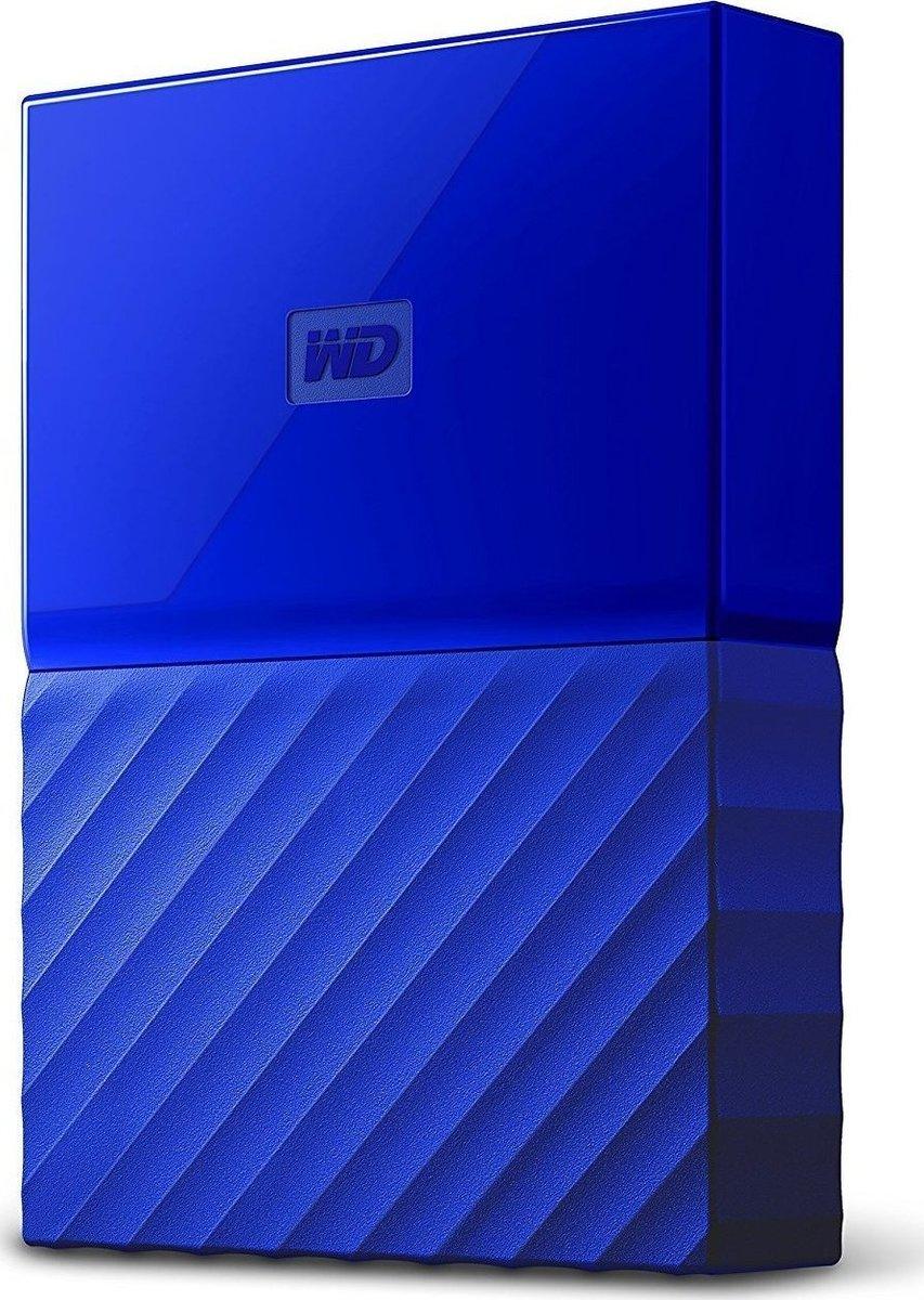 Western Digital My Passport 4TB Εξωτερικός Σκληρός Δίσκος USB 3.0 Blue