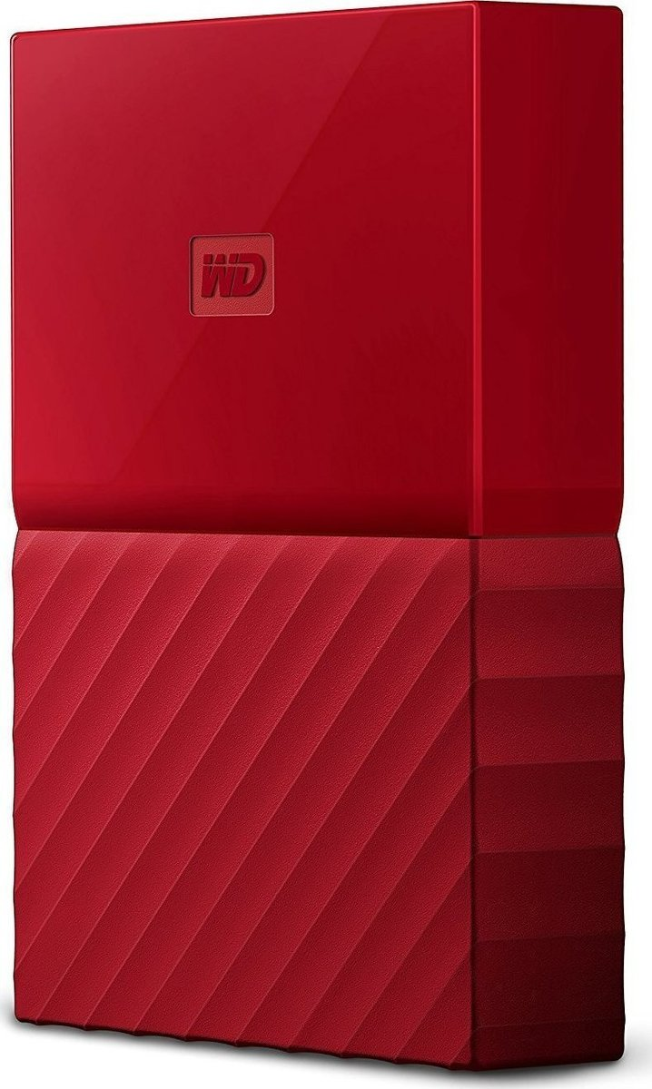 Western Digital My Passport 4TB Εξωτερικός Σκληρός Δίσκος USB 3.0 Red