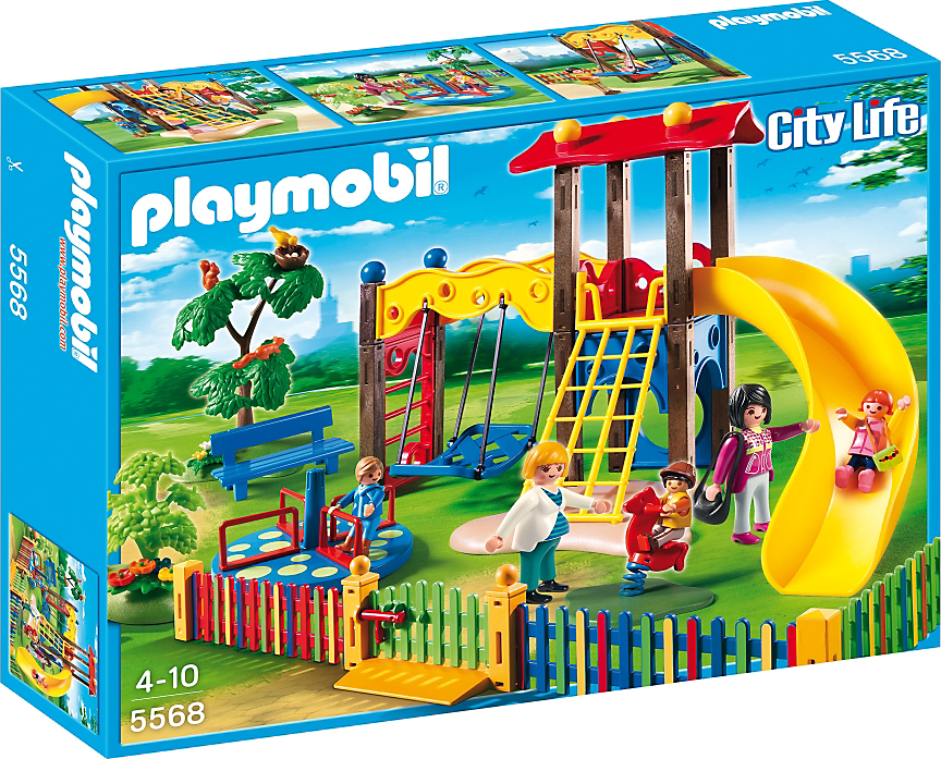 Playmobil Μοντέρνα Παιδική Χαρά 5568