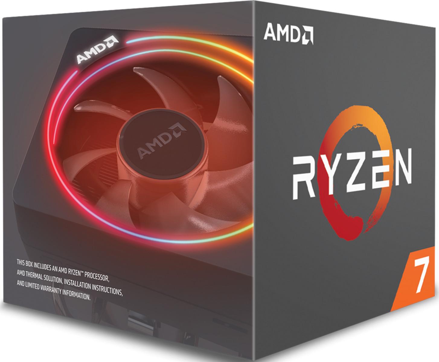 AMD Ryzen 7 2700X Box Επεξεργαστής Πληρωμή έως 24 δόσεις