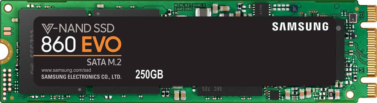 Samsung 860 Evo M.2 250GB Σκληρός Δίσκος SSD