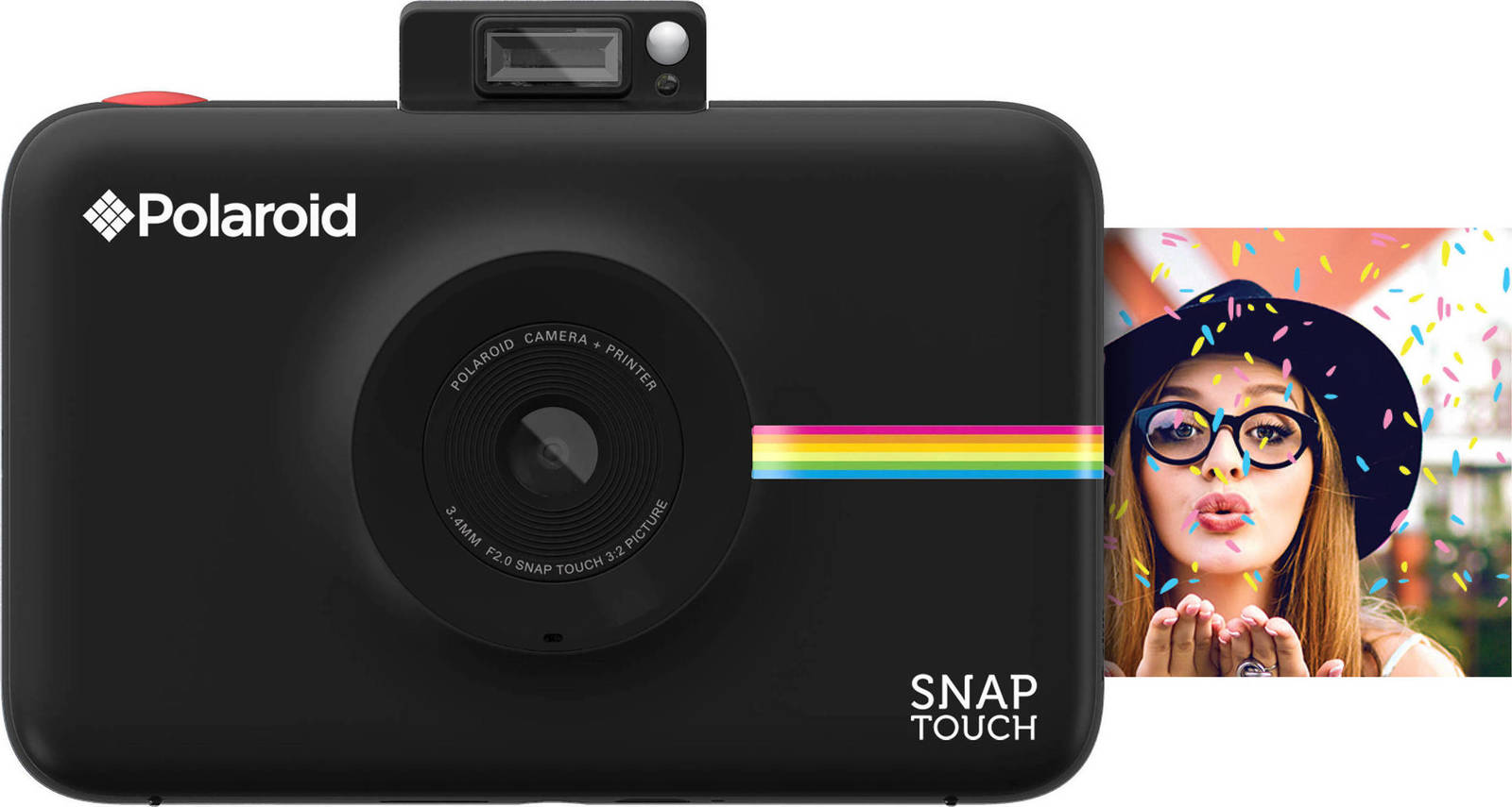 Polaroid Snap Touch Instant Camera Black Πληρωμή έως 24 δόσεις