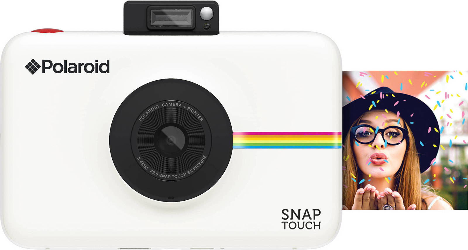 Polaroid Snap Touch Instant Camera White Πληρωμή έως 24 δόσεις