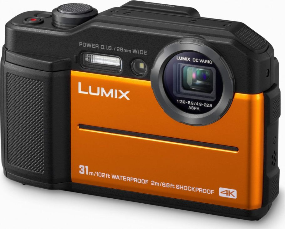 Panasonic Lumix DC-FT7 Orange Πληρωμή έως 24 δόσεις