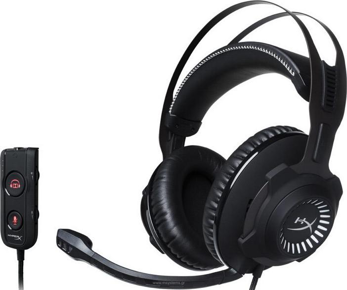 HyperX Cloud Revolver S HX-HSCRS-GM/EM Headphones Black  Πληρωμή έως 24 δόσεις