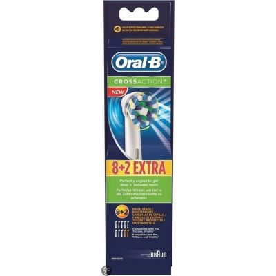 Oral-B Cross Action 8+2τμχ