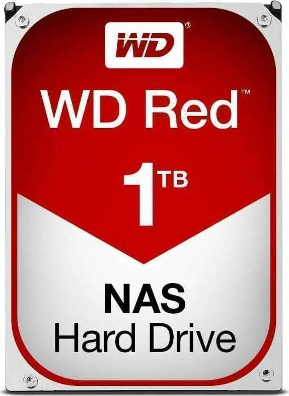 Western Digital Red NAS 1TB WD10EFRX Σκληρός Δίσκος 3.5'' Sata 3