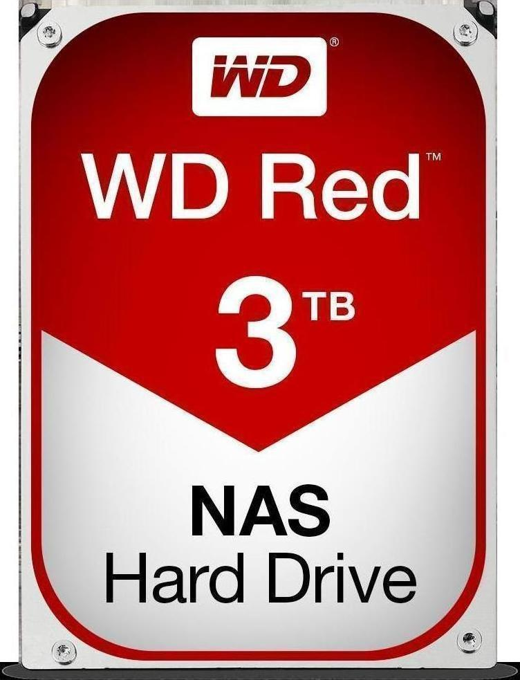 Western Digital Red NAS 3TB  WD30EFRX Σκληρός Δίσκος 3.5'' Sata 3