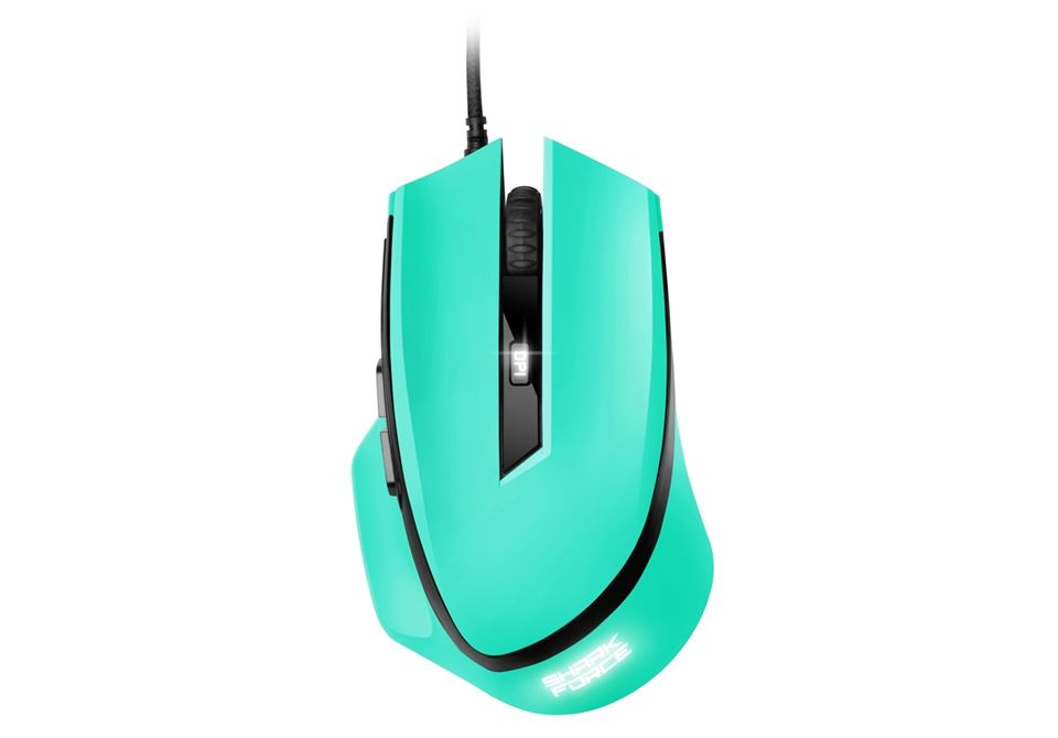 Sharkoon SHARK Force Mouse Mint Green