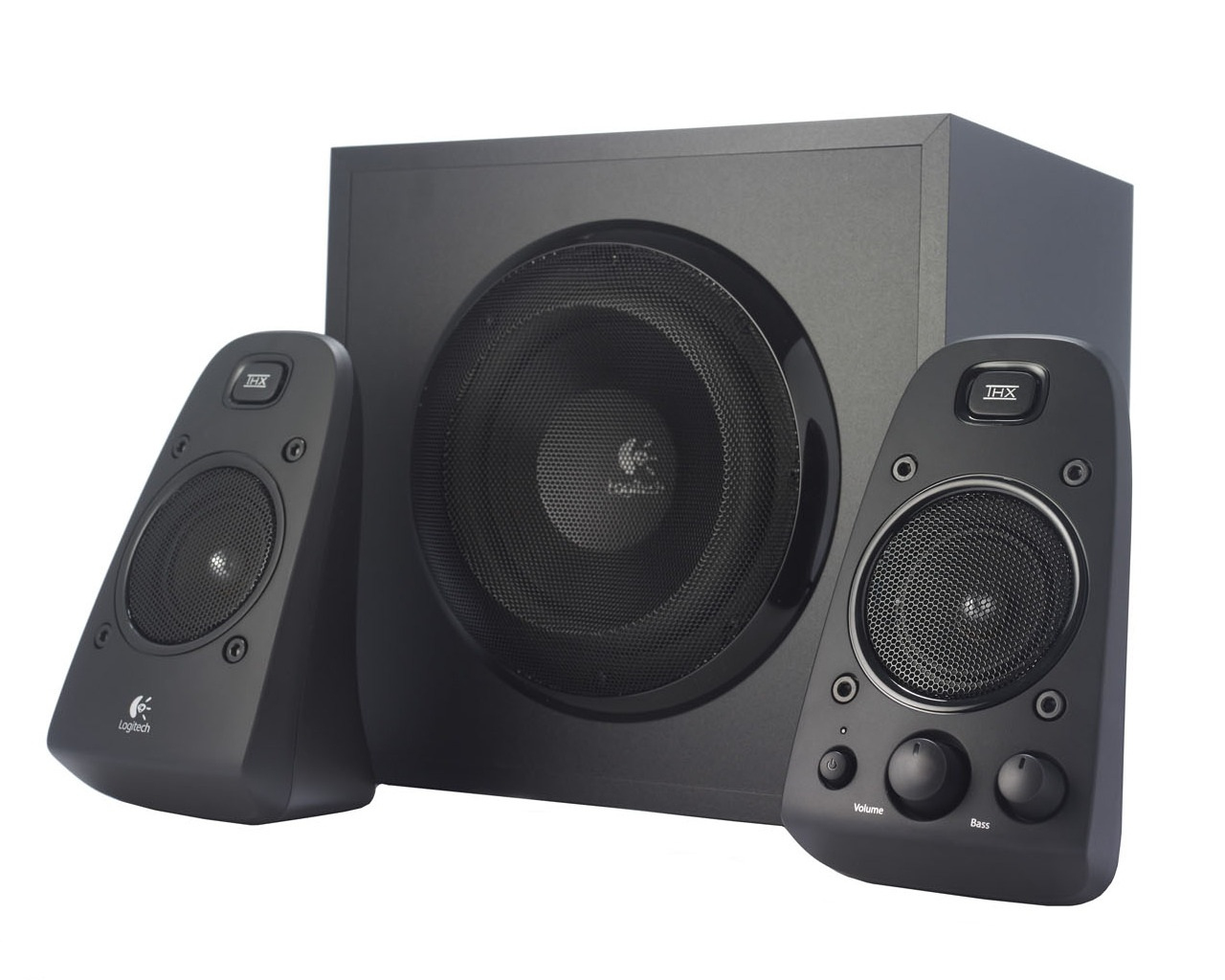 Logitech Speaker System Z623 2.1 200W Ηχεία Υπολογιστή 980-000403