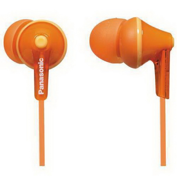 Panasonic RP-HJE 125 In Ear Ακουστικά Orange