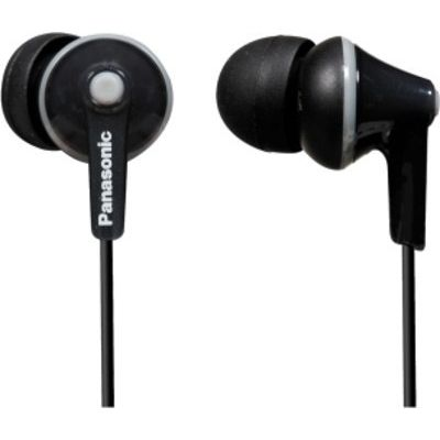 Panasonic RP-HJE 125 In Ear Ακουστικά Black