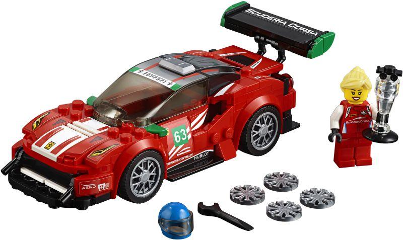 Lego Speed Champions: Ferrari 488 GT3 Scuderia Corsa 75886
