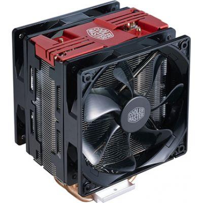 CoolerMaster Hyper 212 LED Turbo Cpu Cooler Red