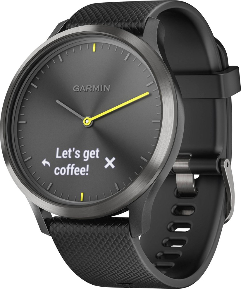 Garmin Vivomove HR Sport Large Black
