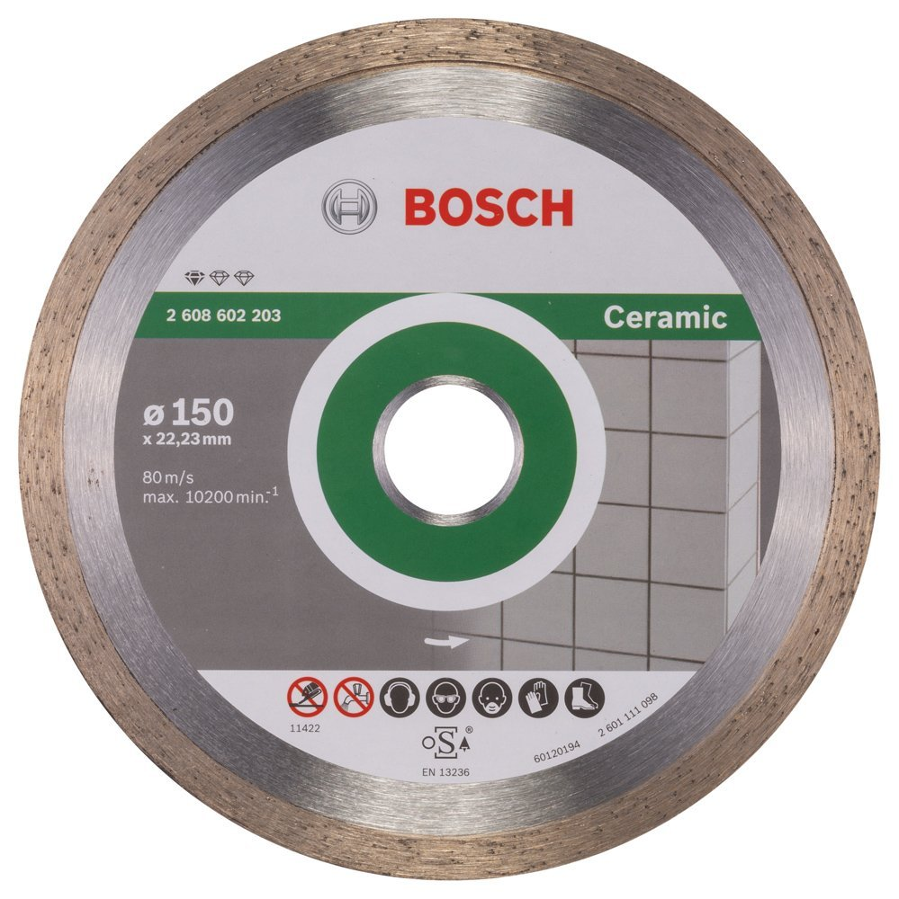 Bosch Diamond Cutting Disc Standard for Ceramic 2608602203