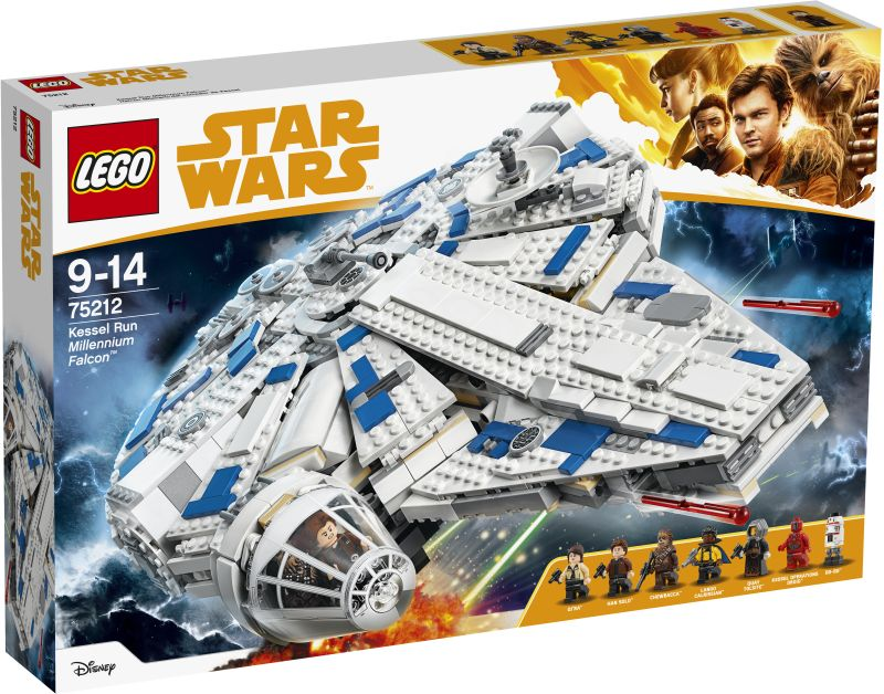 Lego Star Wars: Kessel Run Millennium Falcon 75212