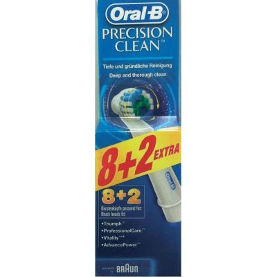 Oral-B Precision Clean 8+2τμχ