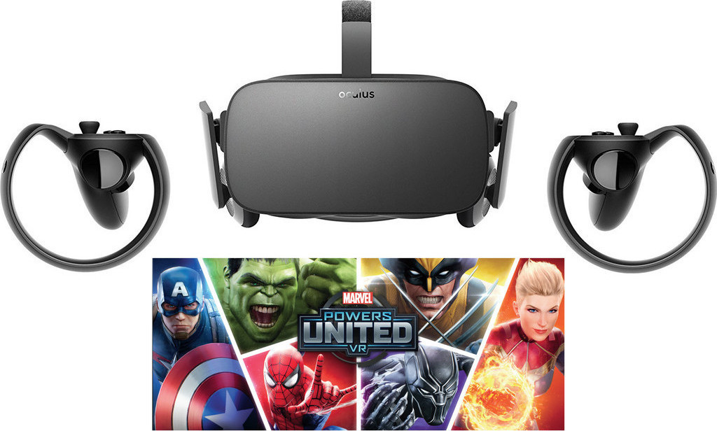 Oculus Rift Special Edition + Touch + Marvel Powers United VR Goggles Πληρωμή έως 24 δόσεις