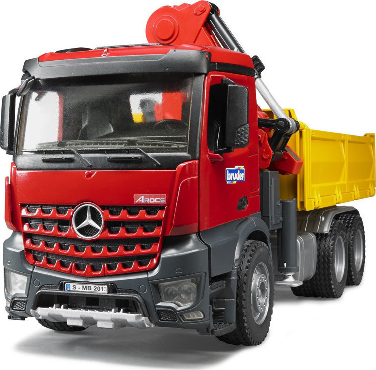 Bruder Φορτηγό Mercedes Μεταφοράς Παλετών με 2 Παλέτες 03651