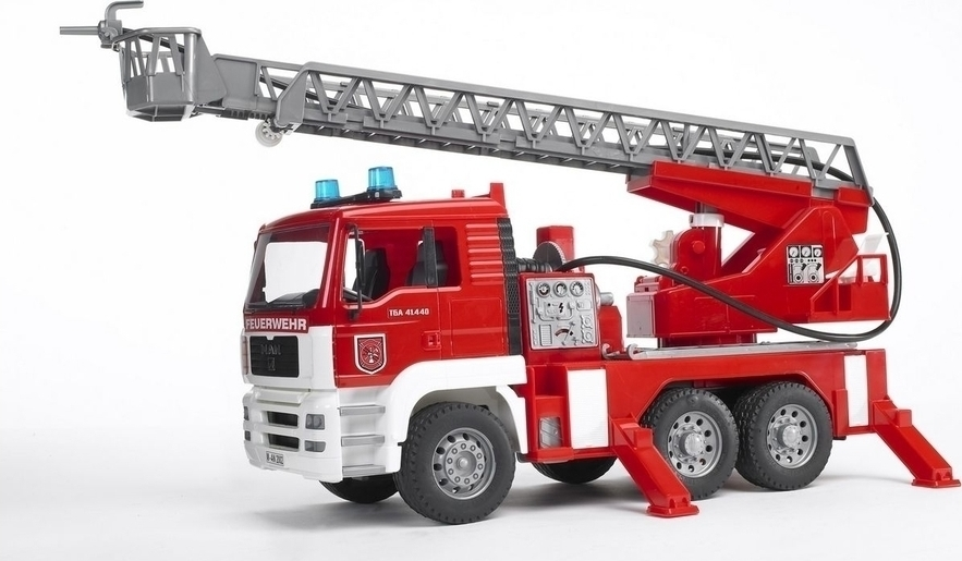 Bruder Πυροσβεστική Man με Καλάθι 02771