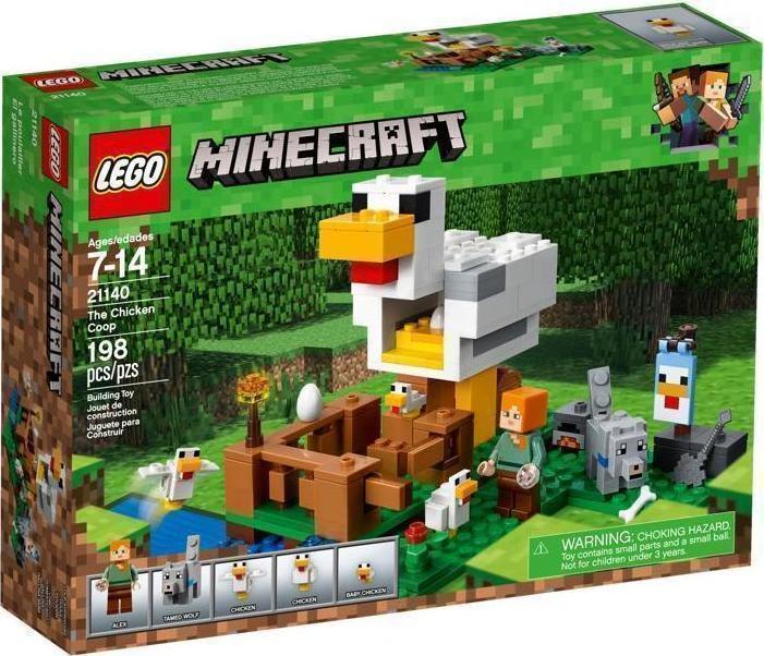 Lego Minecraft: The Chicken Coop 21140