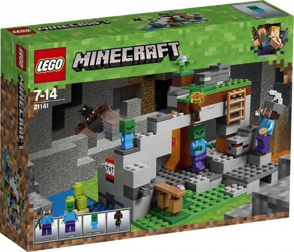 Lego Minecraft: The Zombie Cave 21141