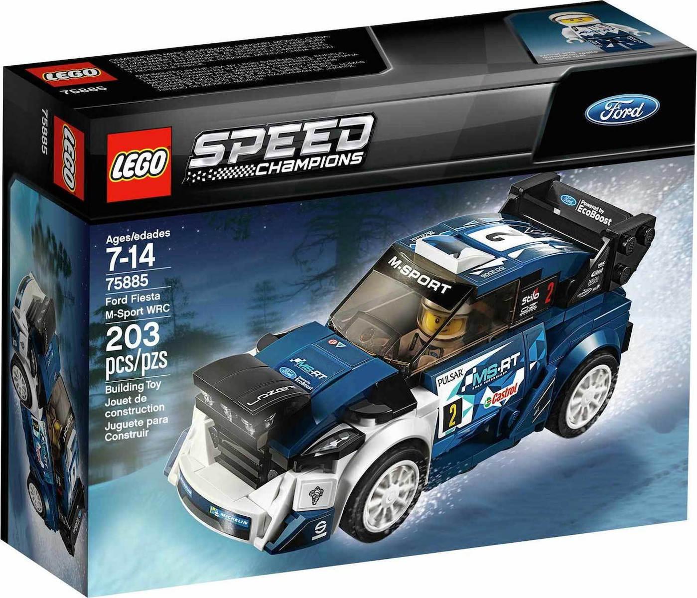 Lego Speed Champions: Ford Fiesta M-Sport WRC 75885