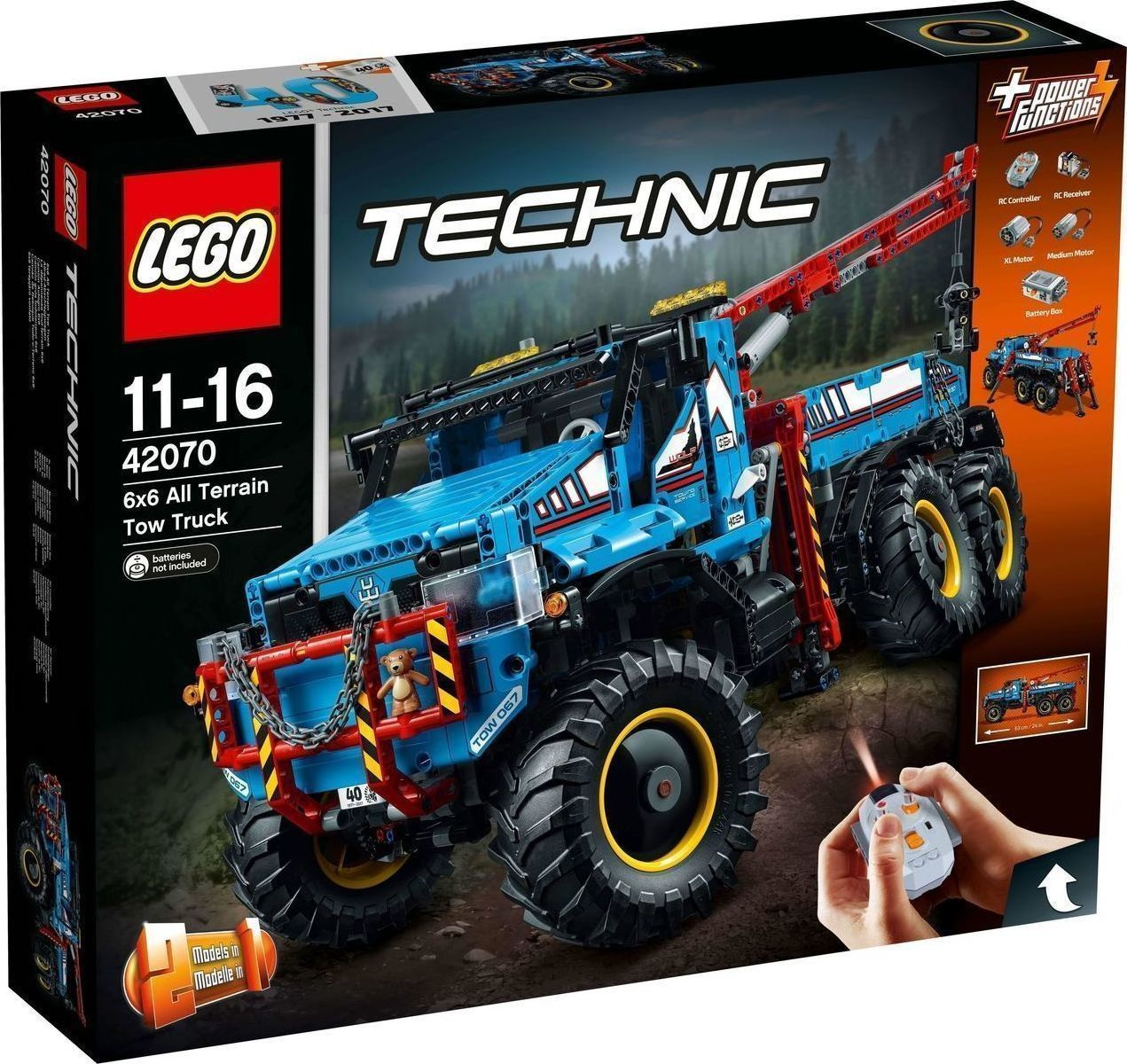 Lego Technic: All Terrain Tow Truck 42070