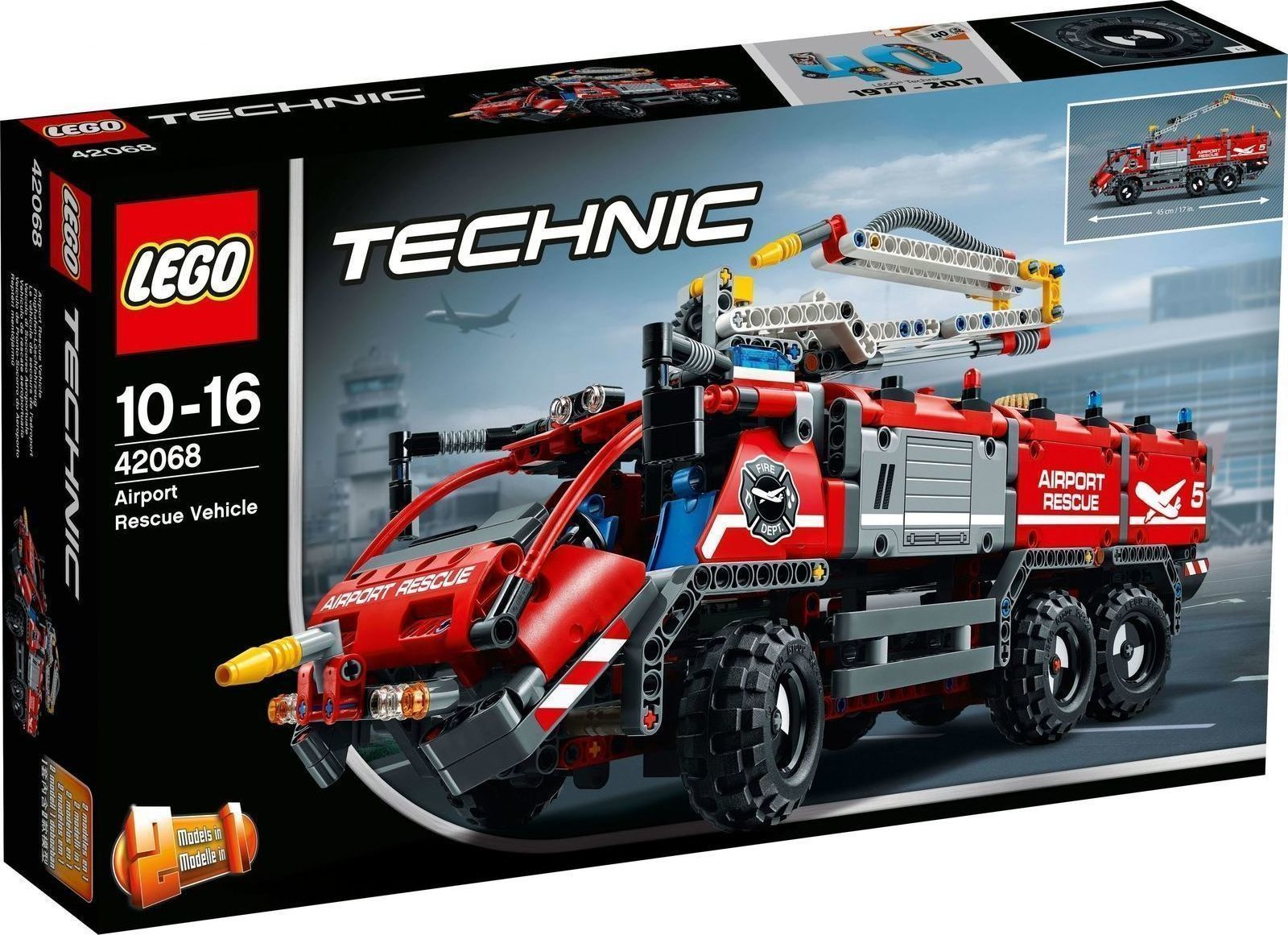 Lego Technic: Airport Rescue Vehicle 42068