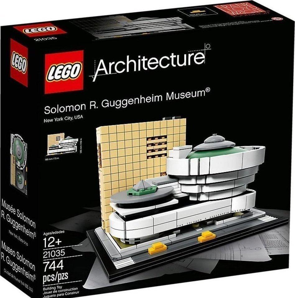 Lego Guggenheim Museum 21035