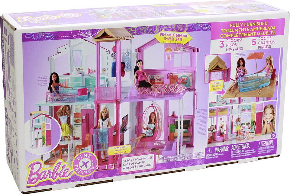 Mattel Barbie Malibu Σπίτι DLY32