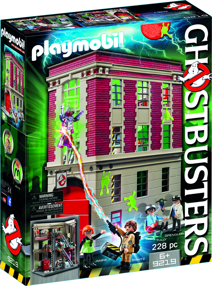 Playmobil Αρχηγείο Ghostbusters 9219