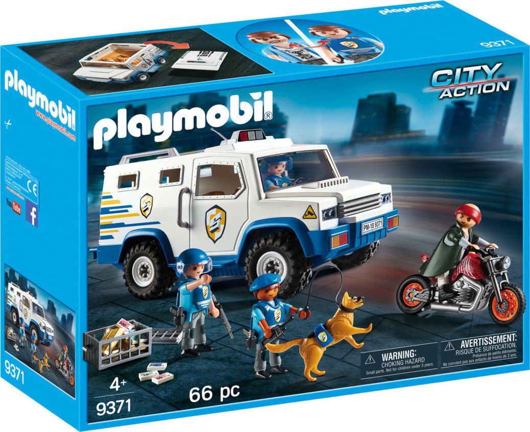 Playmobil City Action: Όχημα Χρηματαποστολής 9371